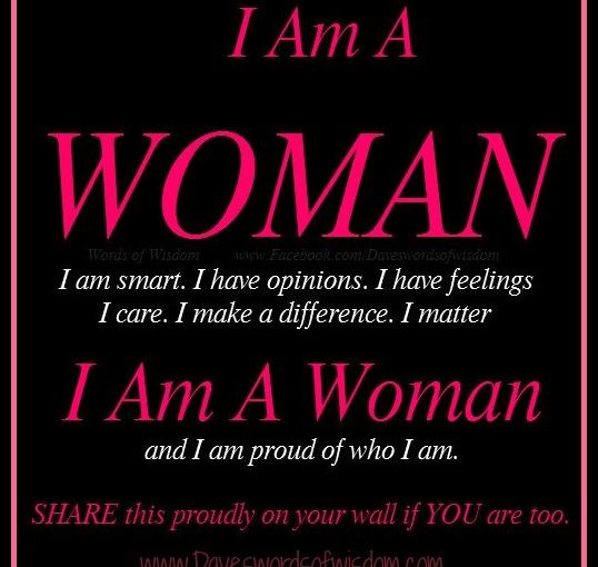 I Am aWoman