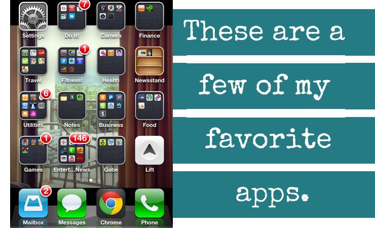 Favorite Apps on MyPhone!