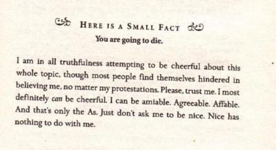The book thief advice