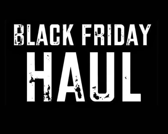 #BlackFriday Shopping Haul!